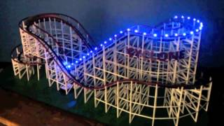 Scale Wooden Roller Coaster