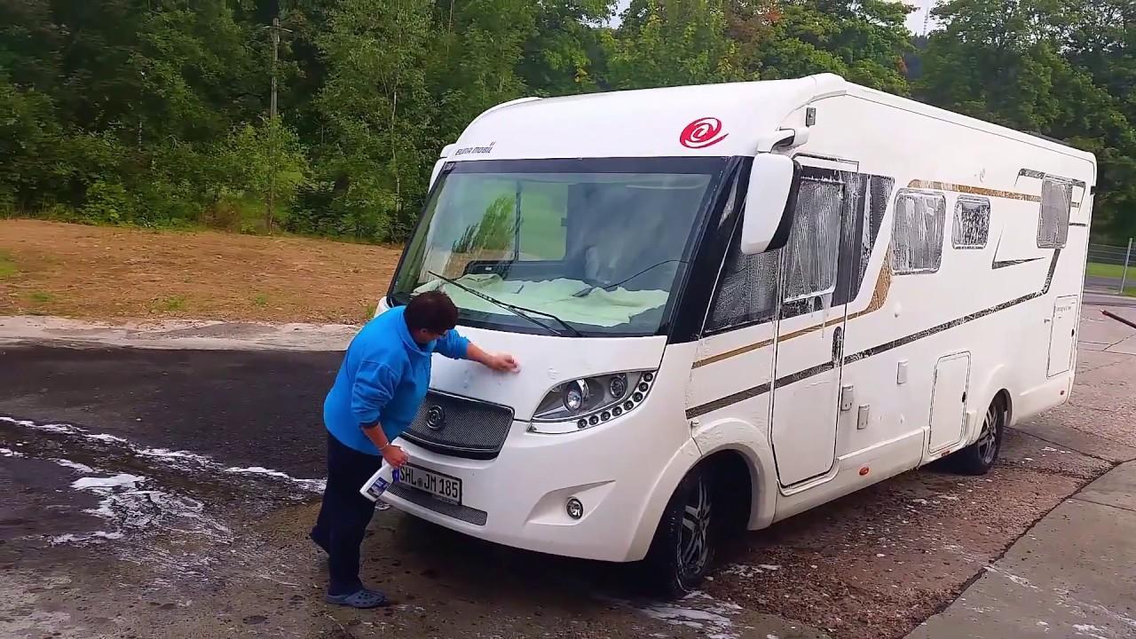 Mit dem Wohnmobil unterwegs - VLOG - Unser Wochenend Reisebericht vom Main  nach Scheibe Alsbach