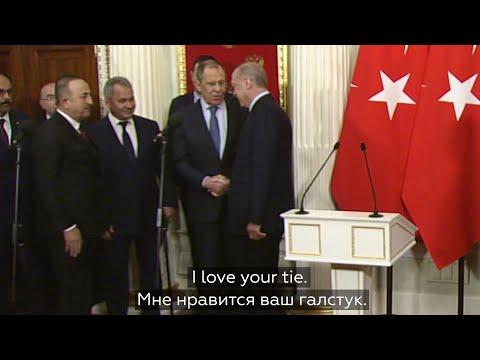 Турецкие СМИ не расслышали Лаврова и приписали ему слова о любви к Эрдогану