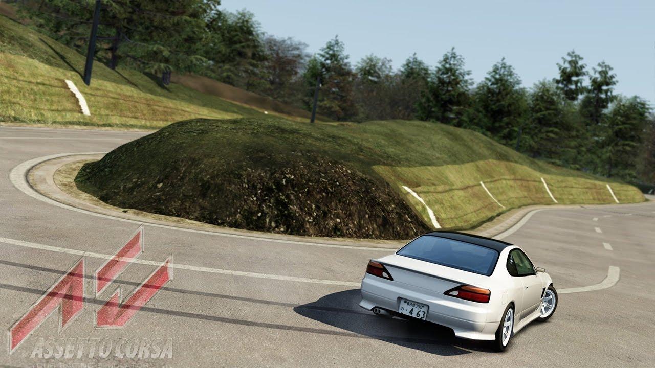 Assetto Corsa - Ebisu Touge Drift (Nissan Silvia S15 Bakatina)