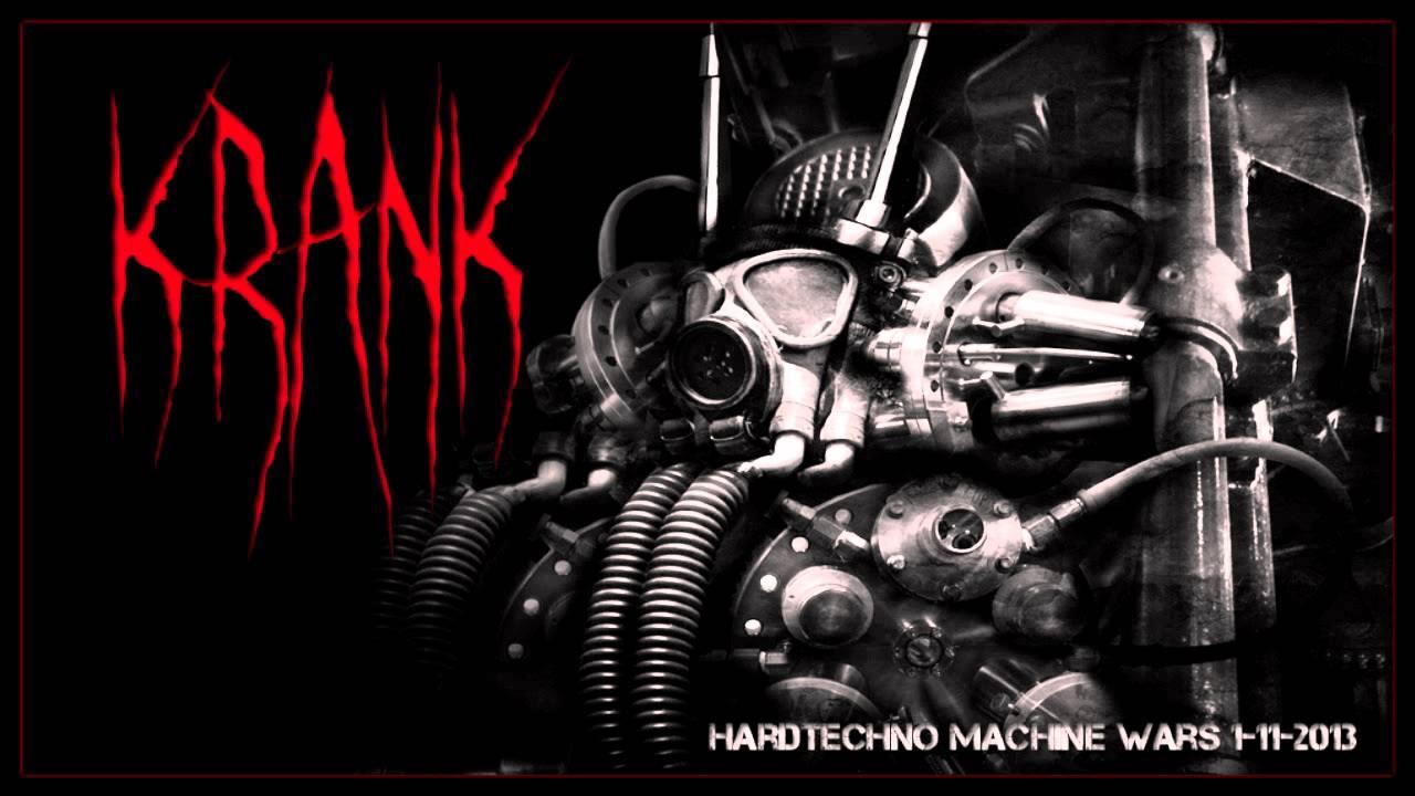 Dj Krank - Hardtechno Machine Wars 1-11-2013
