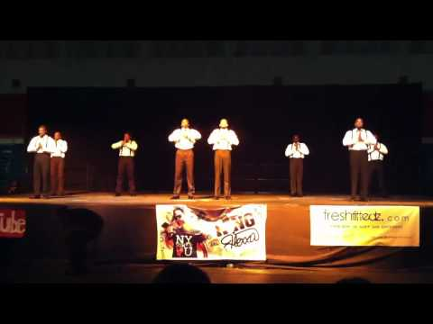 2012 Battlegrounds Stepshow Morgan State University - A Phi