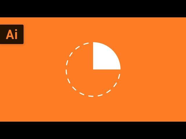 How to Make a Quarter Circle | Illustrator Tutorial