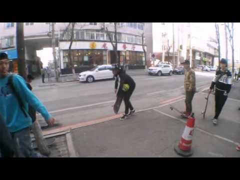 Birthday of 411 skateshop in Shenyang China