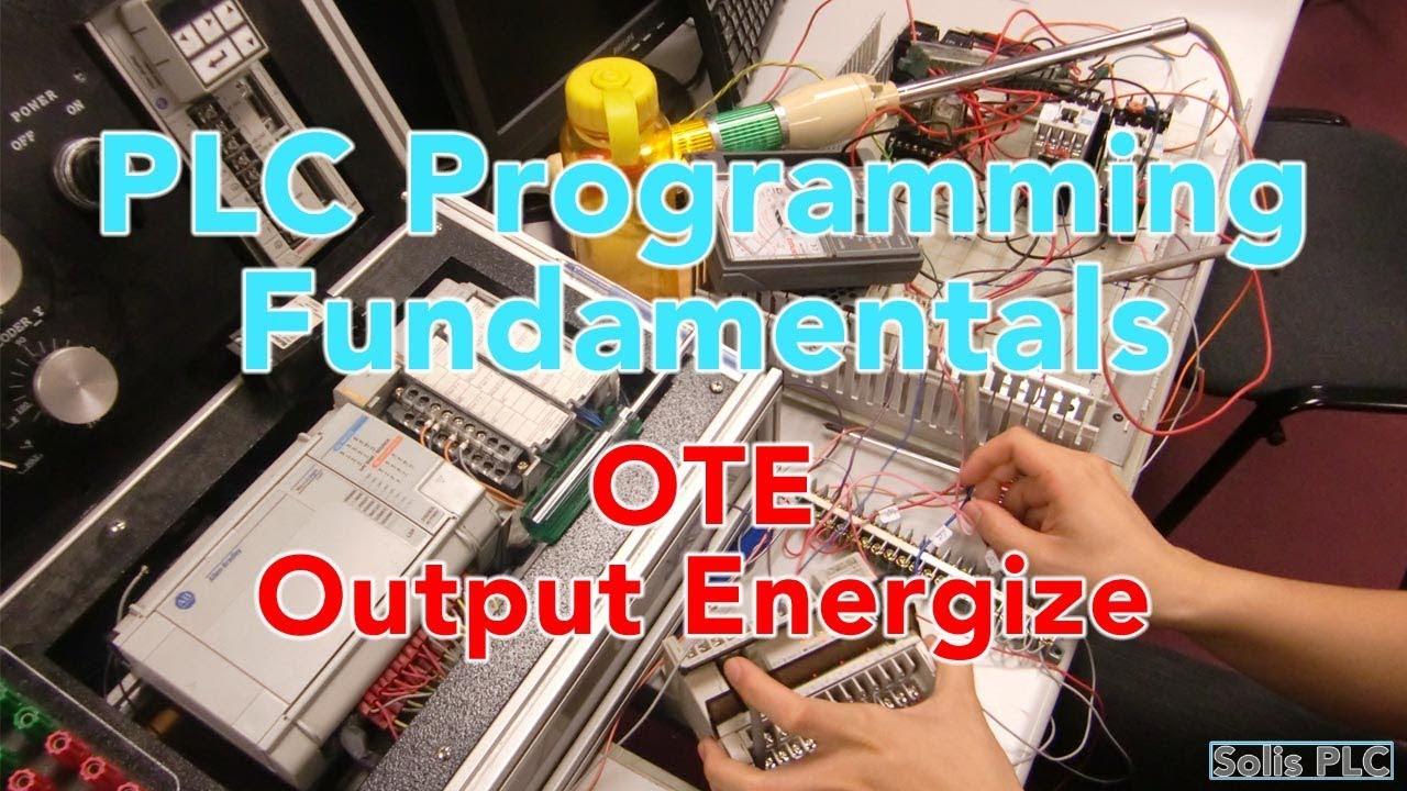 Ladder Logic Programming Basics Ote Output Energize Instruction Plc Training For Dummies In Rslogix 5000 Solis