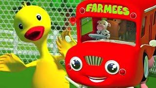 Räder auf dem Bus   Reime Für Kinder   Kinderzimmerreime   Song For Kids   Wheels on the Bus