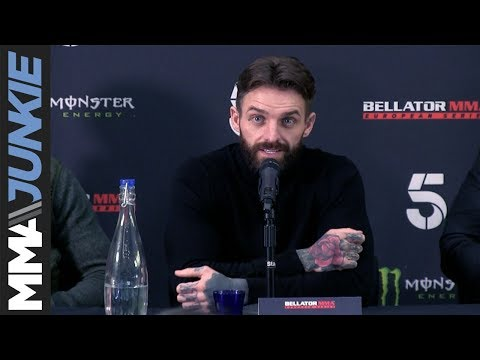 Aaron Chalmers excited for a friendly crowd at Bellator Newcastle