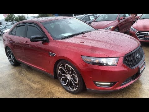5 Reasons Why The New Gen Ford Taurus SHO Is A Enthusiast's Full Size Bargain!