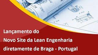 Novo Site da Lean Engenharia - Criação de Sites Profissionais em São Bento do Sul - Samuca Webdesign