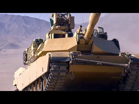 Interesting Video: U.S. M1 Abrams Tank Maneuver During Training Exercise
