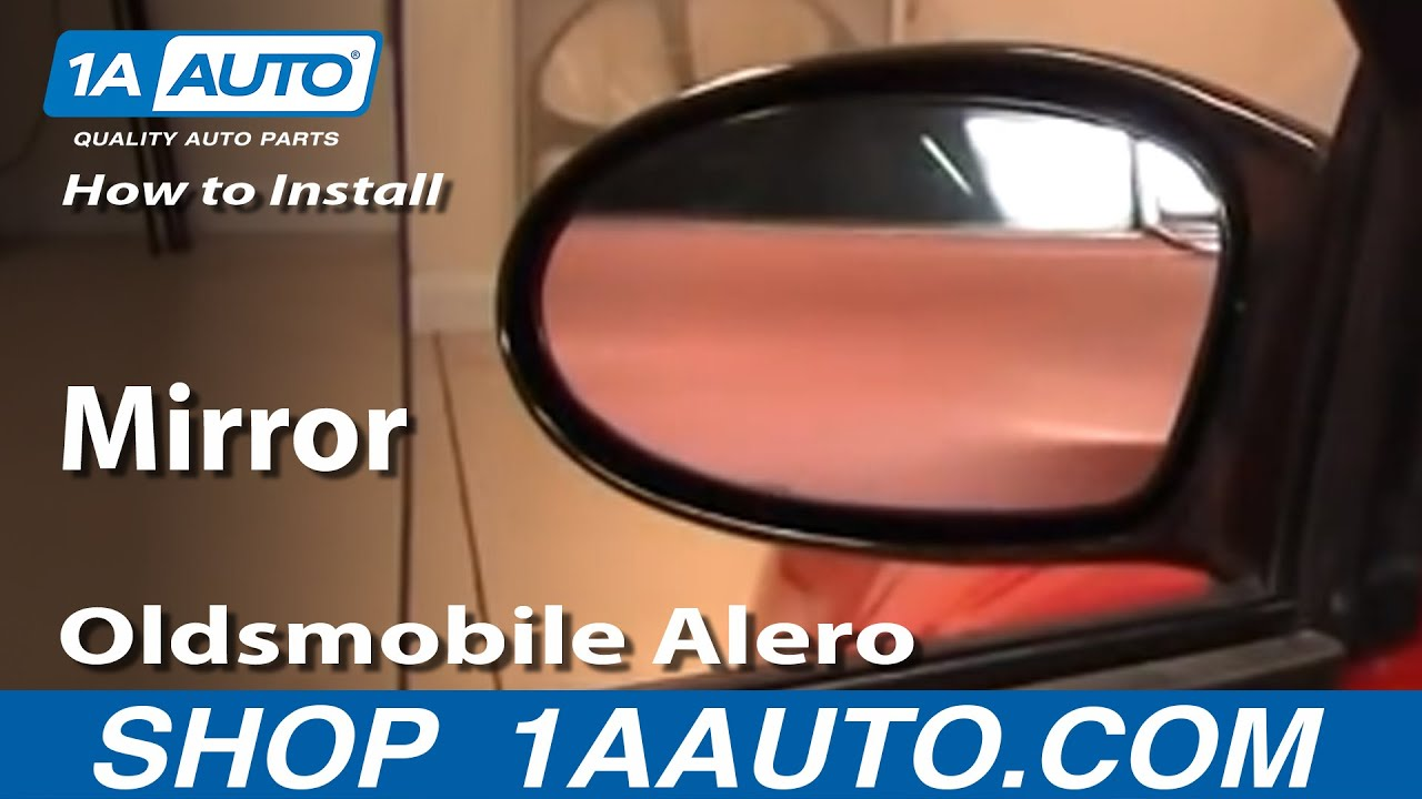 How to Replace Side Mirror 99-04 Oldsmobile Alero Old Alero Wiring Diagram Mirror on