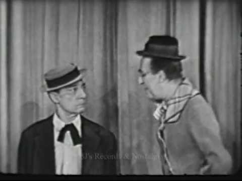 THE ED WYNN .  Buster Keaton segment from 1949.  Live Kinescope.
