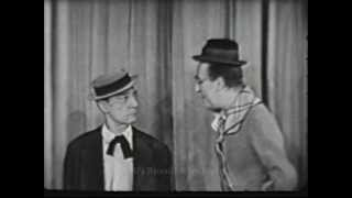 THE ED WYNN SHOW.  Buster Keaton segment from 1949.  Live Kinescope.