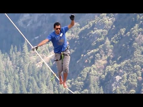 Yosemite Falls tightrope walk Accident Dec2018