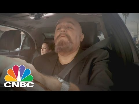 Jay Leno Goes Undercover As An UberBlack Driver | CNBC