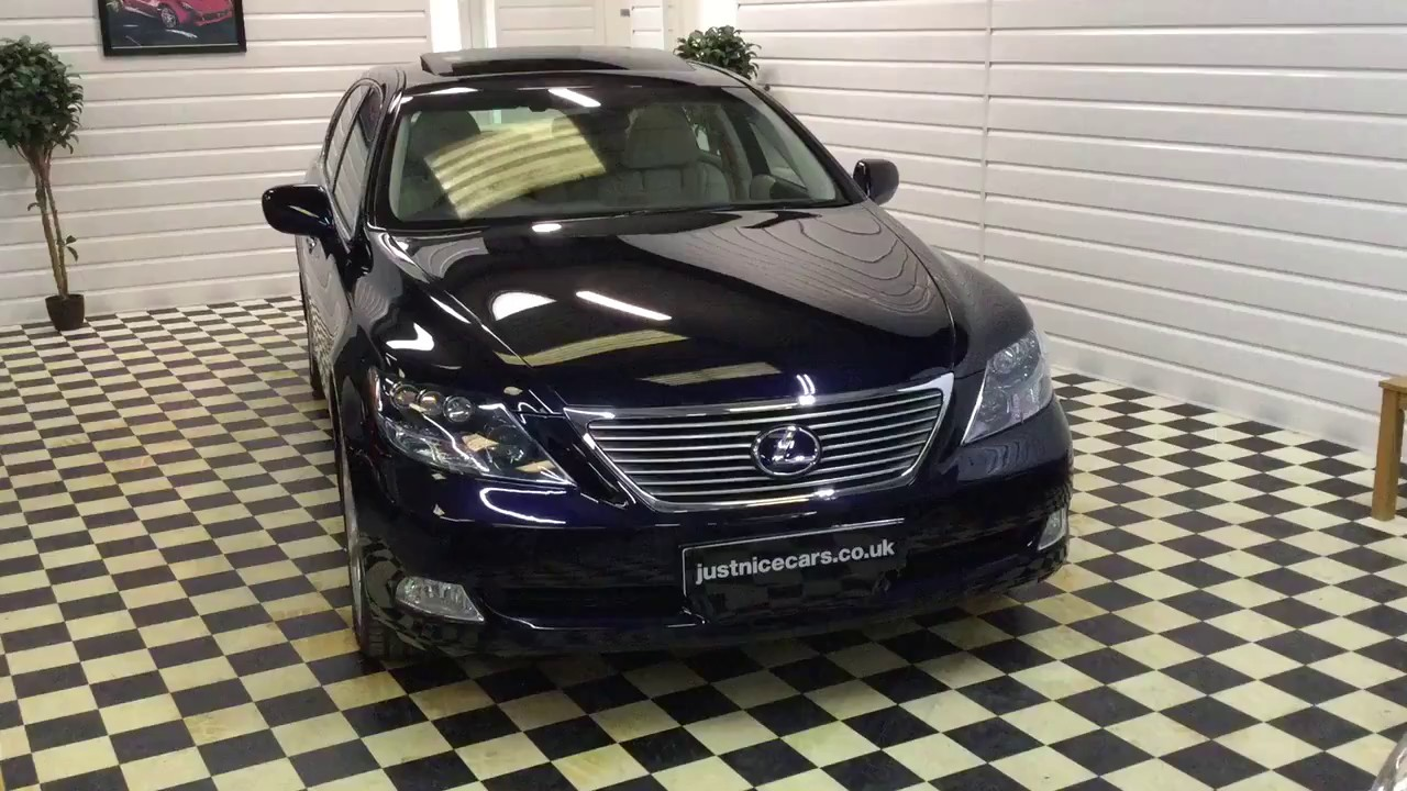 2008 (08) Lexus LS600hL 5.0 V8 Hybrid Automatic Rear Relaxation Pack ...