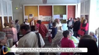 Baptême de la salle d'archéologie - Musée de l'Avallonnais - Édition 2015 à Avallon (89)