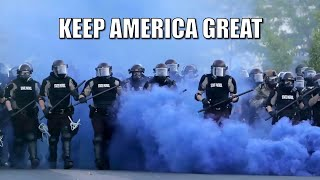 KEEP AMERICA GREAT (2020 Police Brutality Edition) - Trump Song by Camille & Haley