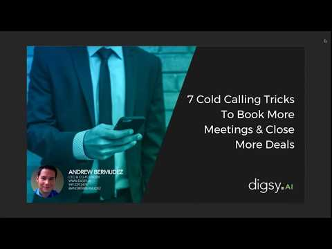 WEBINAR - 7 Cold Calling Tricks to Book More Meetings & Close More Deals
