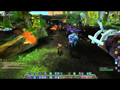 Mists Of Pandaria Beta - Mage - Jade Forest Questing Part 1