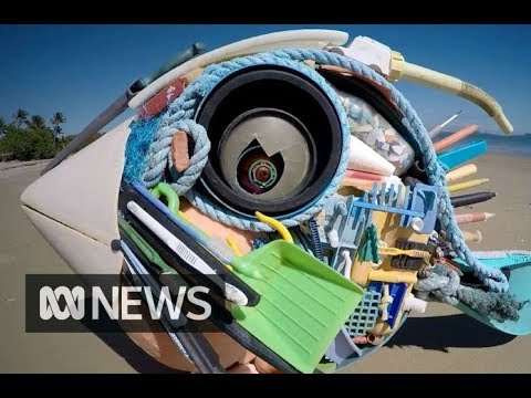 Turning ocean trash into art