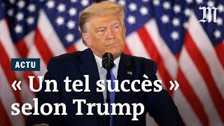 Élections américaines 2020 : « Les résultats sont phénoménaux », selon Donald Trump