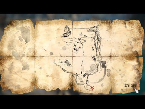 Assassins Creed IV Black Flag   treasure map  179, 593