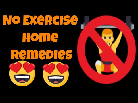 How To Lose Weight Fast Without Exercise Home Remedies