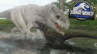 Indoraptor Takes On Indominus Rex! - JPOG Site B Special!