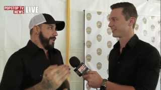 PopStopTV News Live - Hollywood Baby Fever A.J. McLean of Backstreet Boys Interview