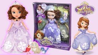 Sofia the First Talking Sofia and Animal Friends - Disney Princess Toys