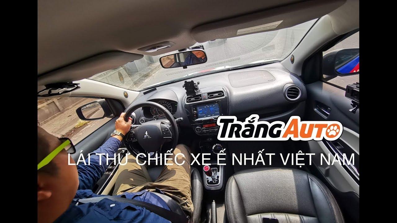 Mitsubishi Mirage – Chiếc xe ế nhất Việt Nam 2018