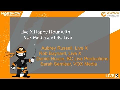 NAB 2018 Day 2: Live X Happy Hour With VOX Media and BC Live