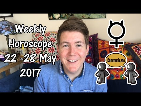 Weekly Horoscope for May 22 - 28, 2017 | Gregory Scott Astrology