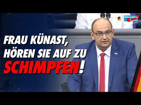 Frau Künast, hören Sie auf zu schimpfen! - Stephan Protschka - AfD-Fraktion im Bundestag