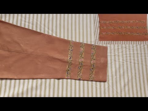 Easy And Simple Trouser Cutting And Stitching Ll By Pakistani Fashion Designer