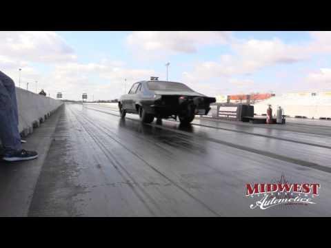 Murder Nova Testing 275 drag radials at Northstar Dragway 2-6-16