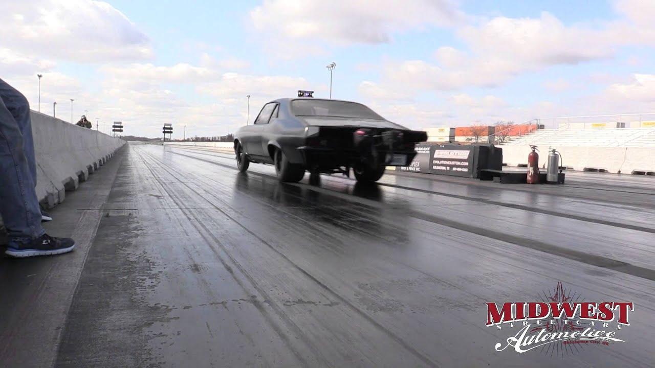 Murder Nova Testing 275 drag radials at Northstar Dragway 2-6-16 - YouTube