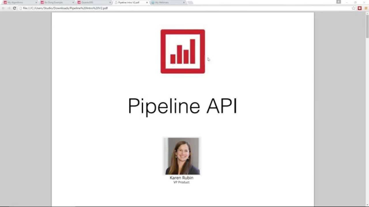 Quantopian Pipeline Introduction