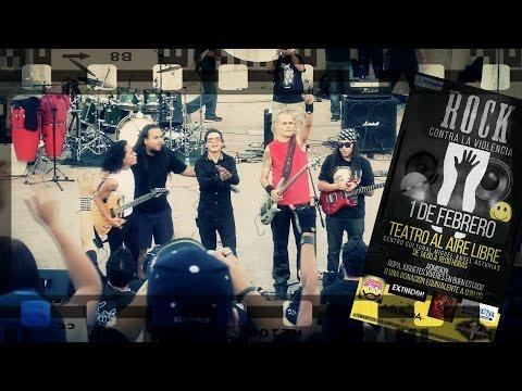AndrOmedA en Rock Contra la Violencia 2015 (concierto completo)