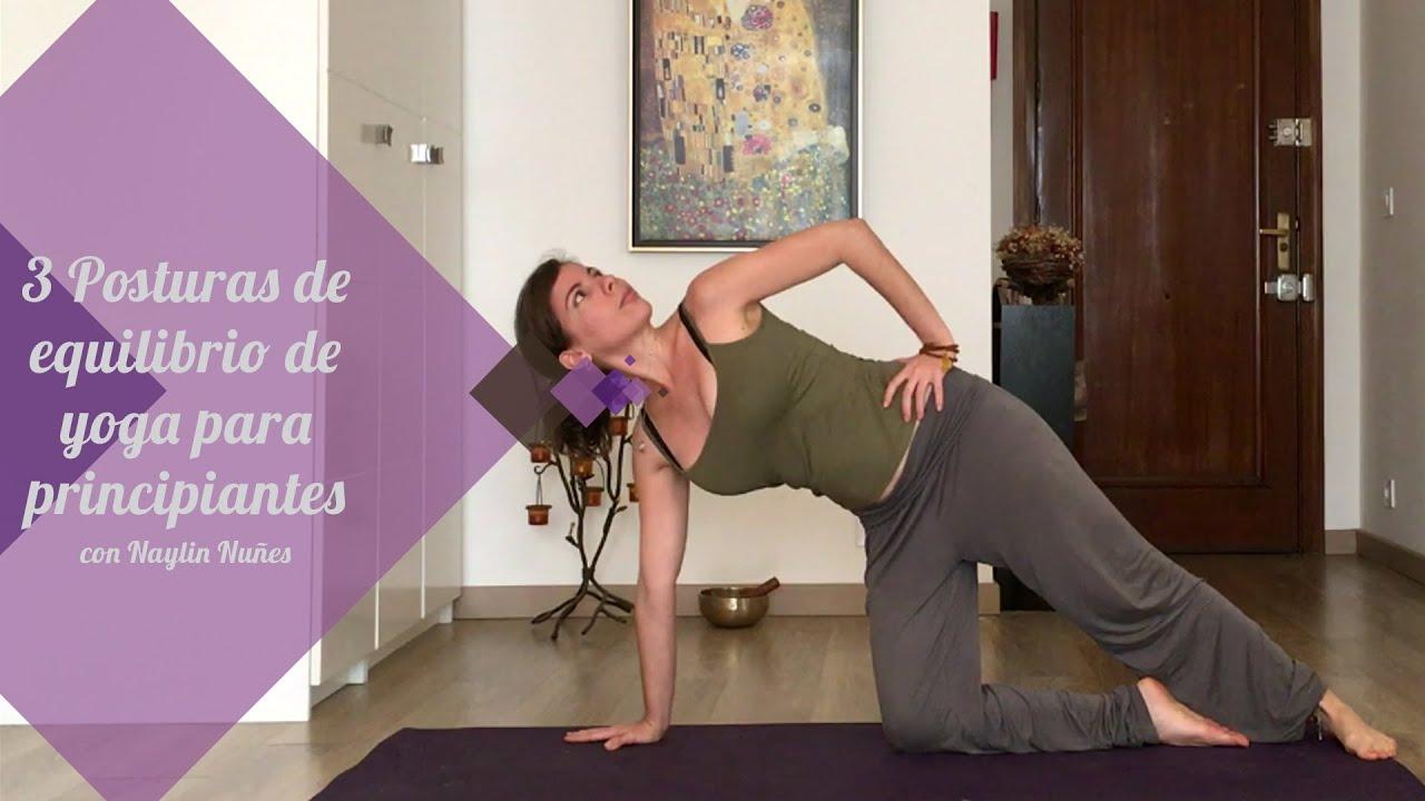 3 Posturas De Equilibrio De Yoga Para Principiantes Youtube