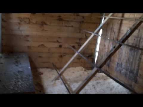 h hnerstall aus palettenholz chicken house from pallet wood funnydog tv. Black Bedroom Furniture Sets. Home Design Ideas