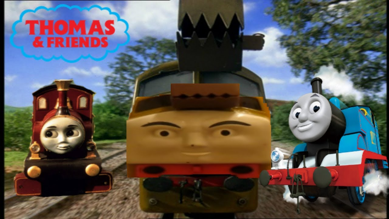 THOMAS AND FRIENDS LADY & DIESEL 10 TRACKMASTER - YouTube