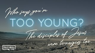 Who says you're too young? The disciples of Jesus were teenagers too. - Word Vs. World - Ep 1