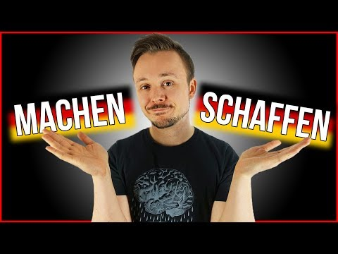 Learn German For Beginners | Machen vs Schaffen EXPLAINED | Get Germanized