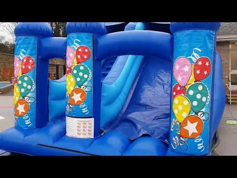 Medium Bouncy Inflatable Slide - Any theme