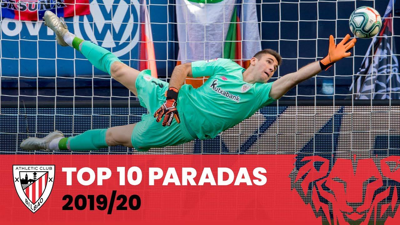 🧤 Top 10 Paradas Athletic Club - Geldiketak (2019-2020)