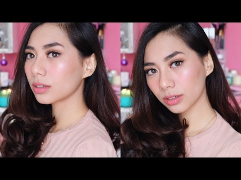 Kose One brand Makeup Tutorial & Esprique Cool BB Spray First Impression - Abel Cantika