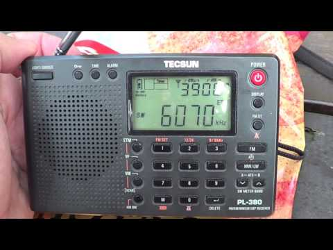 CFRX 6070 Khz Canada  On Tecsun PL 680 VS 380 DXpedition