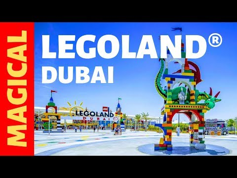 Legoland Theme Park Dubai | Rides | Location | Tickets | Review | Vlog | Insta360 [2019] [Full HD]